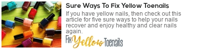 how to prevent yellow toenails