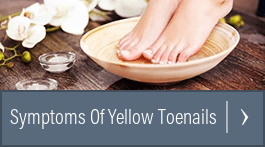 hydrogren peroxide for yellow toenails