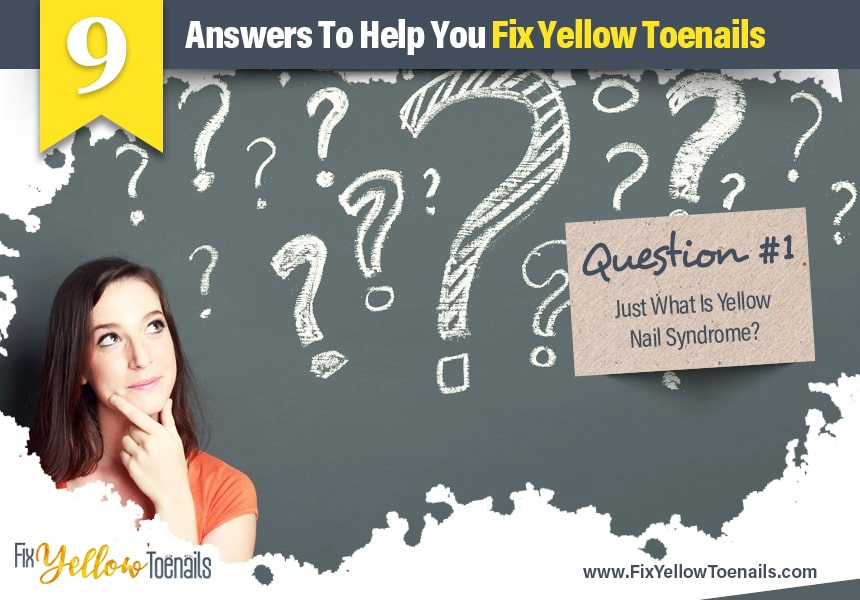 causes of yellow toenails